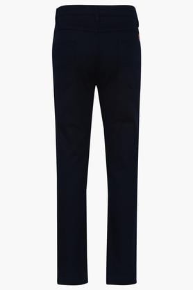 Boys 5 Pocket Solid Pants