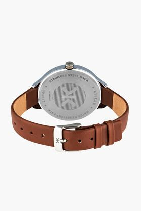 Womens Multi-Function Leather Watch - KLW545D
