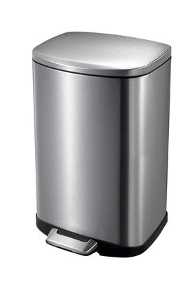 ERROR BRAND Brushed Stainless Steel Step Bin - 203509445_9900