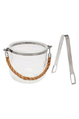 IVY Kitchen Ice Bucket With Tongs