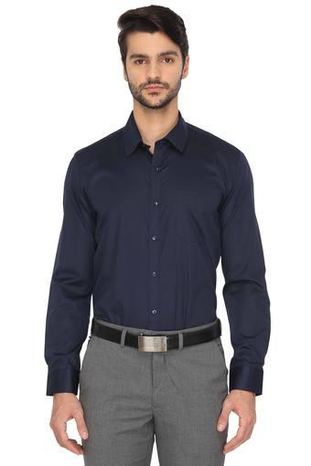 RS BY ROCKY STAR -  Navy Formal Shirts - Main