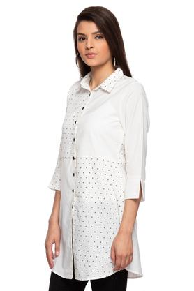 Womens Dot Pattern Tunic