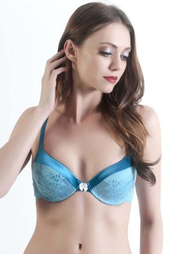 Womens Printed Padded Wired T-Shirt Bra