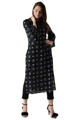 LIBAS Womens Cotton Printed Kurta