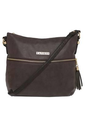 CAPRESE Womens Zipper Closure Sling Bag