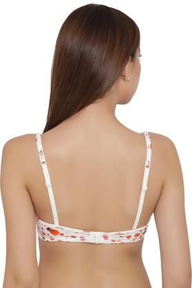 Womens Printed Padded Wired T-Shirt Bra