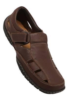 LEE COOPER Mens Casual Wear Velcro Closure Sandals