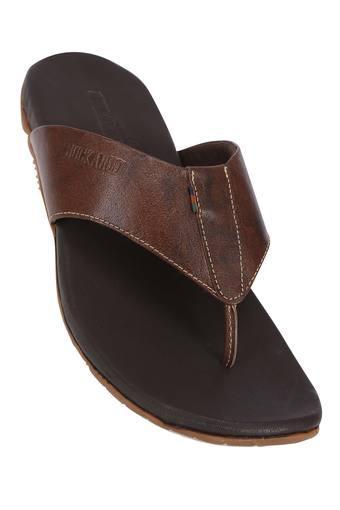 BUCKAROO -  BrownSlippers & Flip Flops - Main