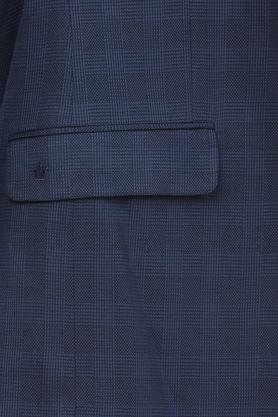 Mens Notched Lapel Check 2 Piece Suit