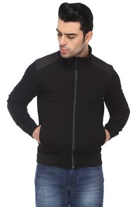 IZODMens Zip Through Neck Solid Jacket