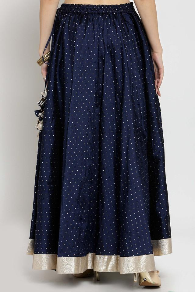 Womens Embroidered Long Skirt