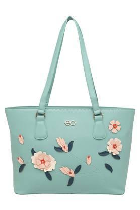 E2OWomens Zipper Closure Satchel Handbag - 204458786_9308
