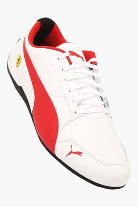 PUMA Mens Leather Lace Up Sports Shoes - 203325365