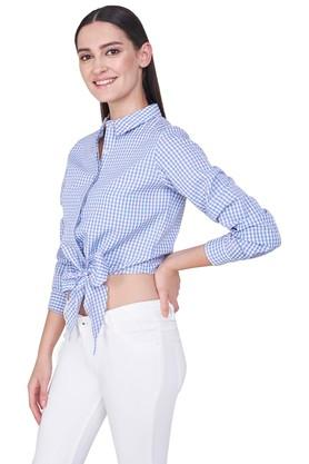 Womens Checked Casual Shirt