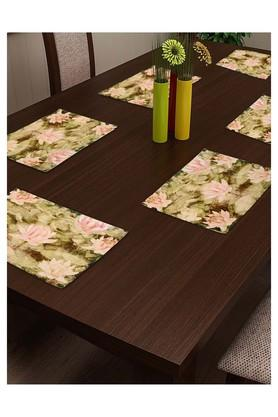 Floral Printed Place Mat Set of 4