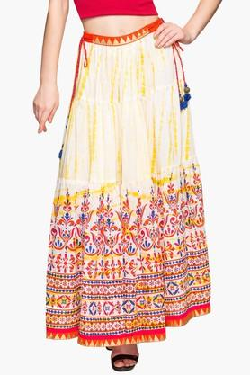 STOP Womens Printed Long Skirt