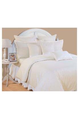 Ivory Solid Single AC Comfortor