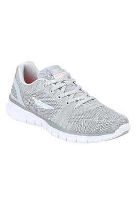 ATHLEISURE Womens Mesh Lace Up Sports Shoes