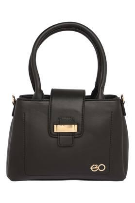 E2O Womens Zipper Closure Satchel Handbag - 204810405_9212