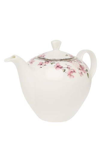 Paradise Floral Tea Pot with Lid
