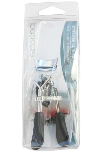 Ergonomic Eyelash Curler With Black Plastic Handles
