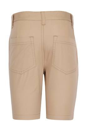 Boys 5 Pocket Solid Shorts