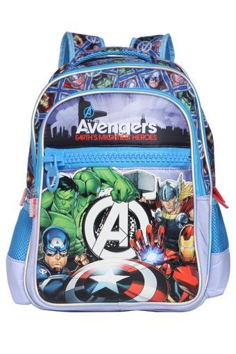 Boys Avengers Zip Closure School Bag