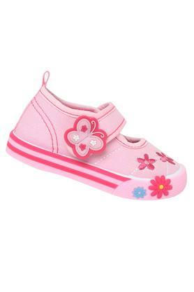 Girls Velcro Closure Sneakers