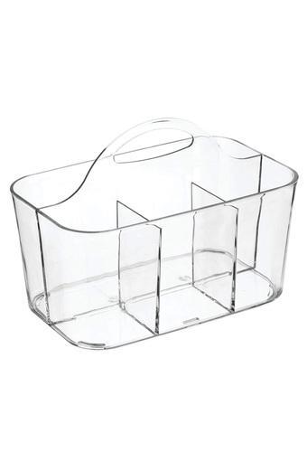 Plastic Bath Caddy - Clear