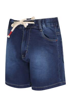 Boys 5 Pocket Washed Shorts