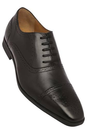Mens Leather Laceup Oxfords