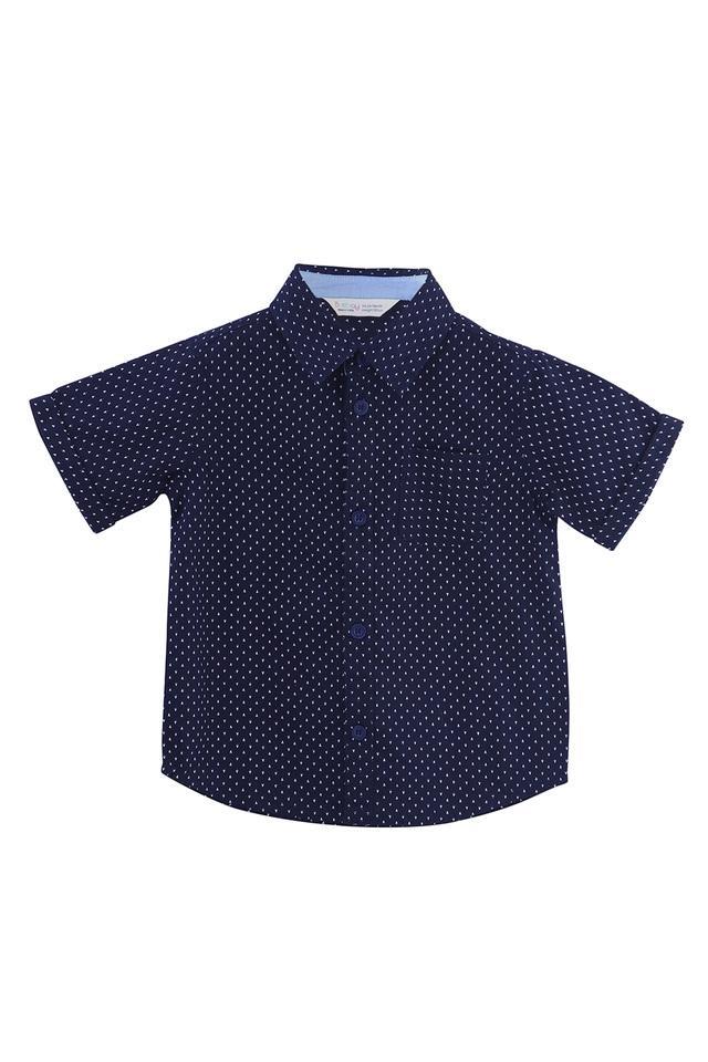Boys Ditsy Print Casual Shirt