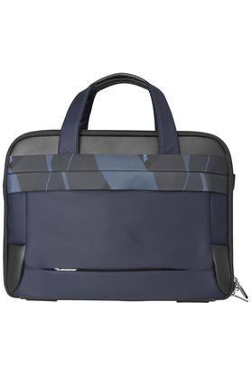 Unisex Zipper Closure Messenger Bag