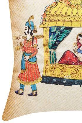 Square Doli Embellished Cushion Cover