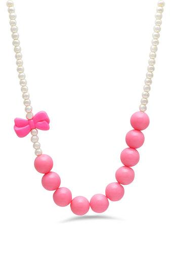 Girls Beads Necklace and Bracelet Set