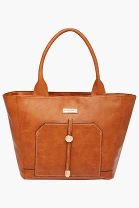 ELLIZA DONATEINWomens Zipper Closure Satchel Handbag - 203261157