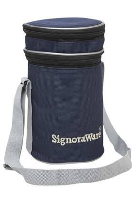 SIGNORAWARE Airtight 4 Containers And Lunch Box With Bag Set Of 5 - 1260ml