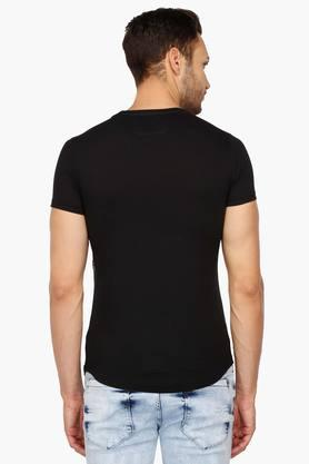 Mens Round Neck Casual T-Shirt