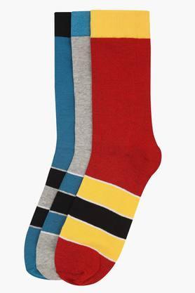 VETTORIO FRATINIMens Stripe Socks Pack Of 3