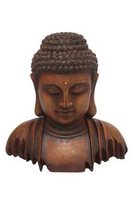 ADARABuddha Head Figurine