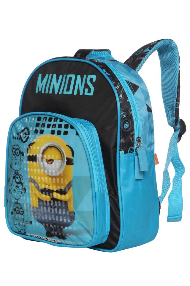 Kids Minion Zip Closure School Bag