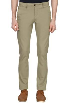 LOUIS PHILIPPE SPORTSMens 4 Pocket Solid Chinos - 203650257