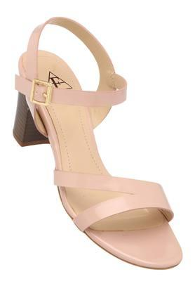 FEMINA FLAUNT Womens Casual Wear Buckle Closure Heels - 204058574_9506