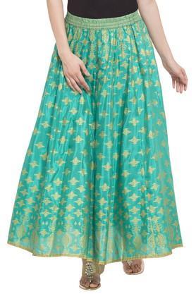 AURELIAWomens Printed Casual Skirt