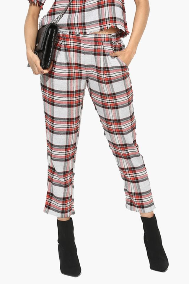 Womens Ankle Length Blanket Pants