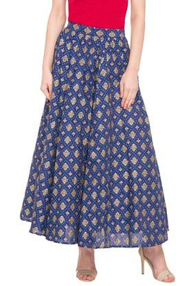 AURELIA Womens Printed Casual Skirt