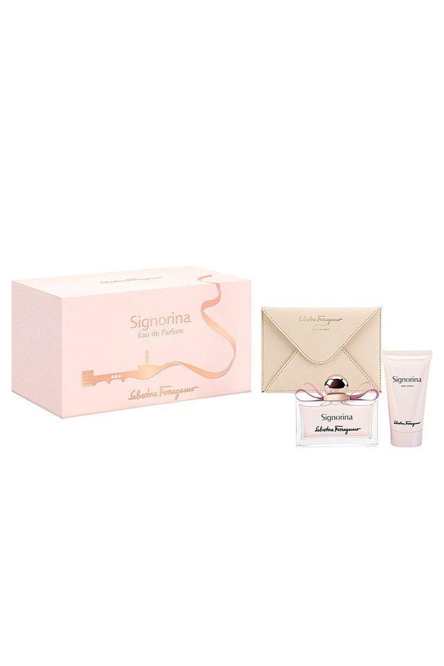 Womens Signorina Eau De Perfume 100ml BL 50ml and Passport Holder Set