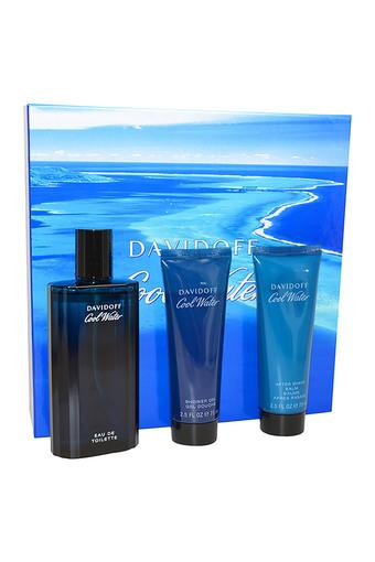 Mens Cool Water EDT Shower Gel And After Shave Balm Set