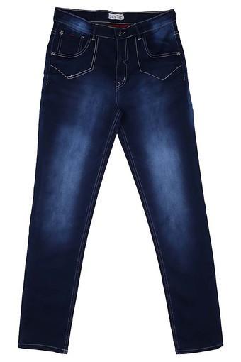 Boys 5 Pocket Mild Wash Jeans