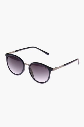 Womens Round Plastic Sunglasses - GL5025C04